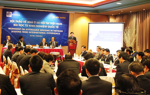 From now to 2020, Viet Nam needs 432 thousand social housing units