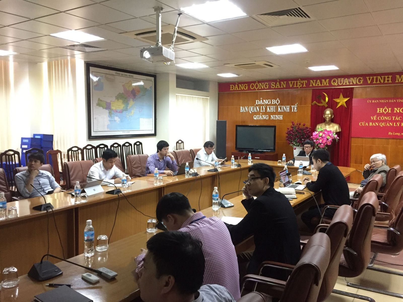 ACUD Tech Attended the Meeting with Quang Ninh Economic Zone Authority to Implement Building the Planning Database