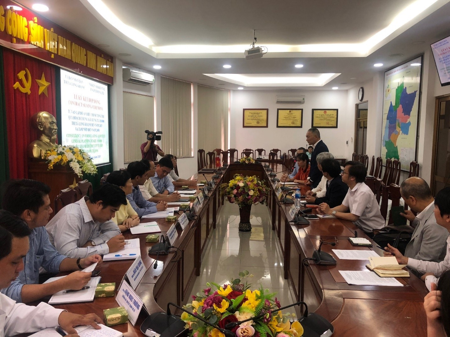 Contract Signing Ceremony for Consultancy on Adjusting Master Planning of Long Khanh Town, Dong Nai Province