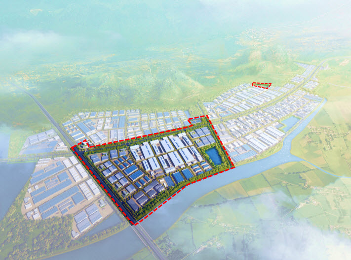 SONG KHOAI INDUSTRIAL PARK - PHASE 1 - QUANG YEN TOWN - QUANG NINH PROVINCE