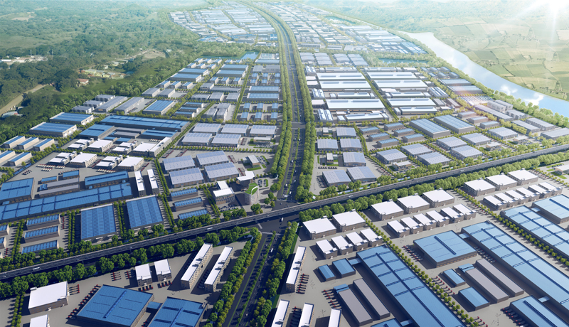 Zoning planning - Song Khoai Industrial Park